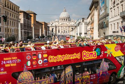 City Sightseeing Hop-on Hop-off bus