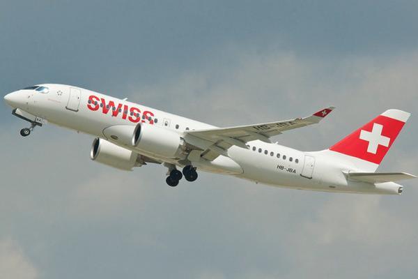 Bilety lotnicze Swiss