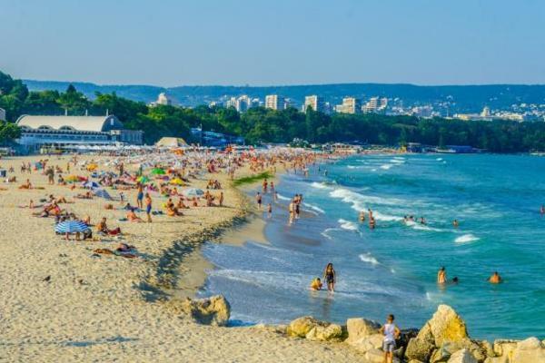 Plaża w Warnie