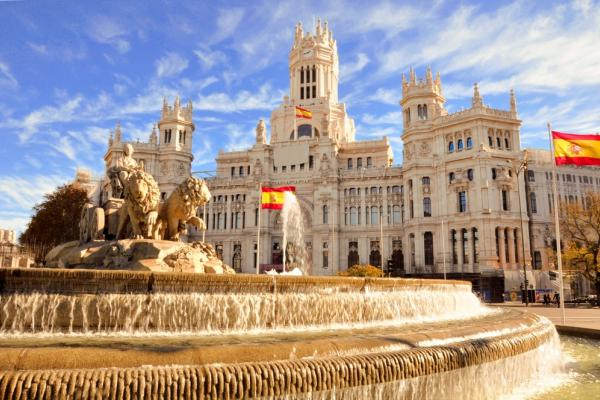 Fontanna w Madrycie