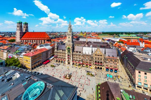 Monachium, Bawaria, połączenia do Niemiec Sindbad