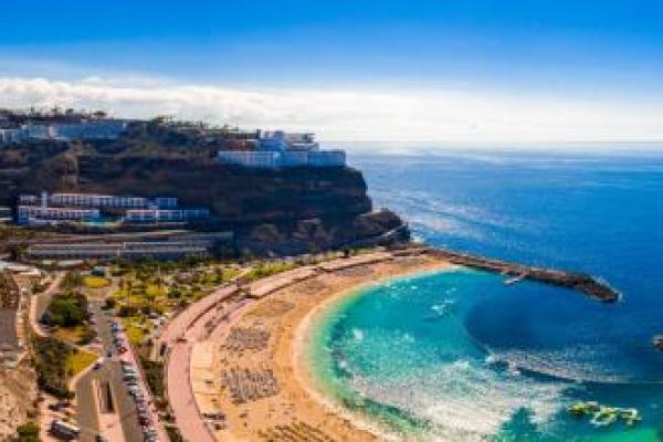 Plaża Amadore, Gran Canaria, Wyspy Kanaryjskie