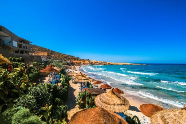 Plaże w Hammamet, Tunezja