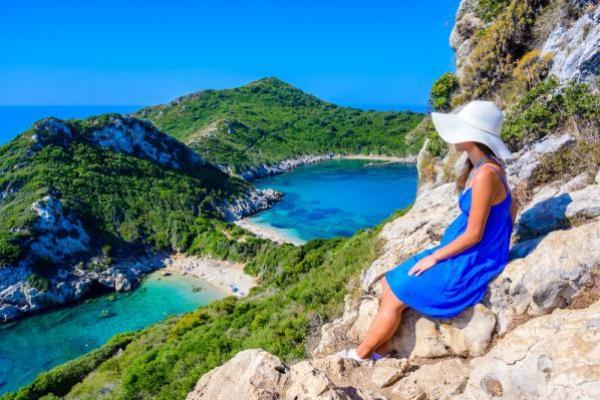 Porto Timoni, Korfu, Grecja
