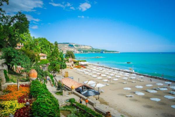 Nadmorski kurort w Bułgarii
