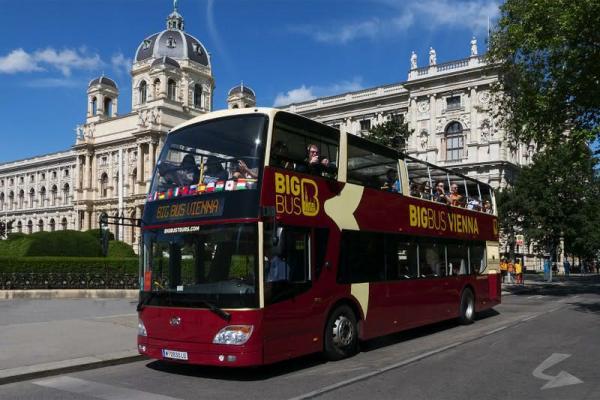 Autobus hop-on hop-off poWiedniu