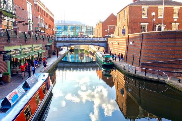 Kanały żeglugowe w Birmingham