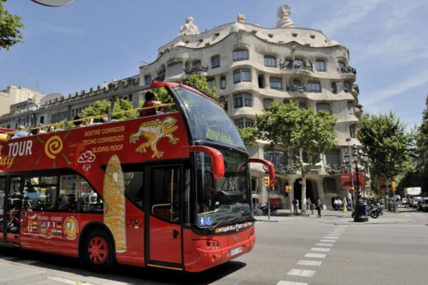 Hop-on i Hop-off po Barcelonie i bilet na Camp Nou