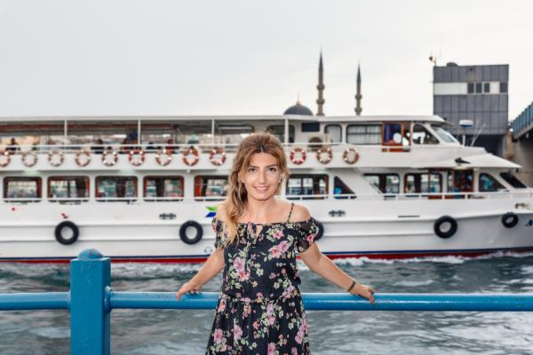Port Eminonu w Stambule