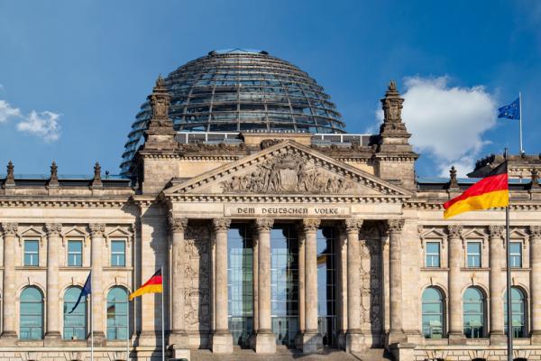 Gmach Reichstag - Berlin