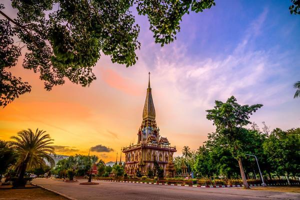 Pagoda Wat Chalong