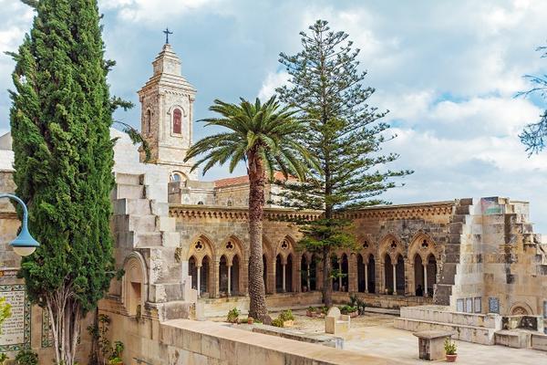 Kościół pater Noster, Góra Oliwna, Jerozolima,