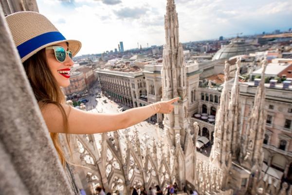 Widok na Duomo di Milano