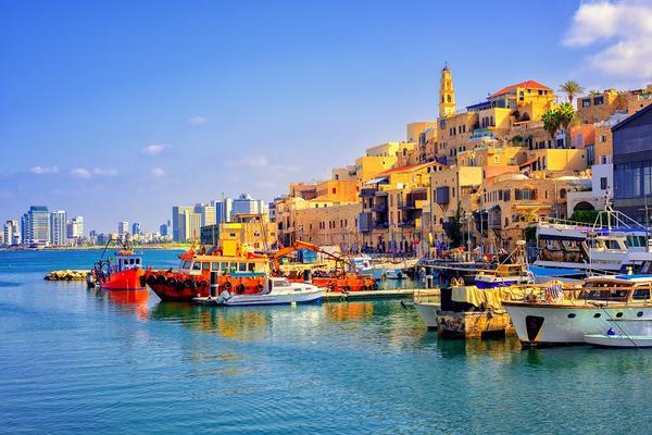 Mały Port w Caesarea Israel