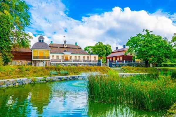 Sztokholm, Skansen w Djurgarden