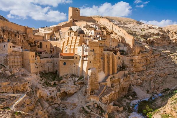 Betlejem — Klasztor Świętej Ławry Świętego Sabbasa Świętego